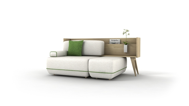 Wszechstronna sofa Two Be