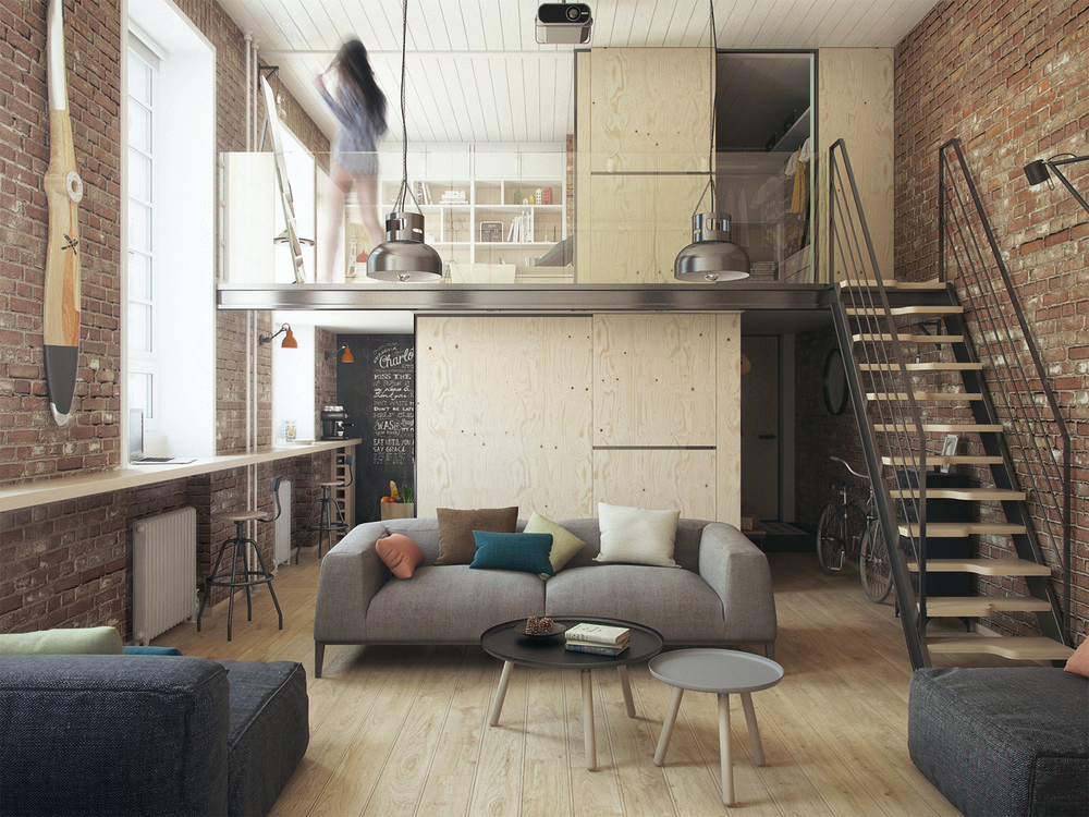 01_wysoki loft_The Goort